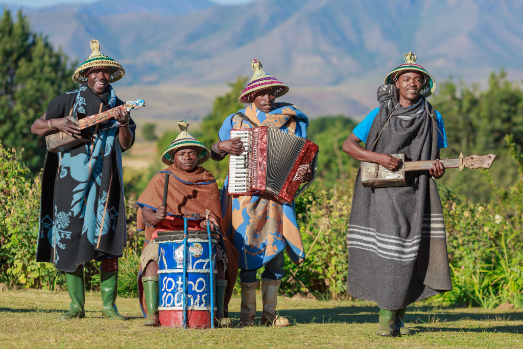 Locals in traditional garb - courtesy of Shutterstock